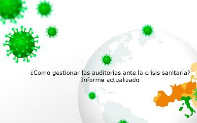 ¿Como afrontar la gestión de las normas BRCGS/IFS y GlobalGAP frente a la crisis sanitaria?. Actualización