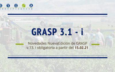 Actualización de la nueva edición GRASP 3.1